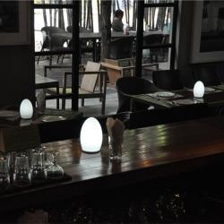 china Portable Wireless LED Restaurant Table Candle Modern Lamp TML-G01E supplier