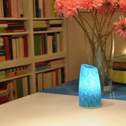 china Saffron and Aqua Table Decoration Cordless LED Desk Lamp IP54 with Pendant Lighting TML-G01T manufacturer