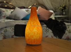 china 4400mAh Dimmable USB Bottle Shape LED Cordless Bedside Lamp Hotel 12V LED Table Lamp manufacturer