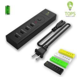 Tops-lighting usb Smart Charge with Four USB