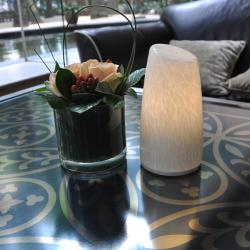 TML-G01TH Handblown Glass LED Candle Lamp e14 Dimmable for Home Decor