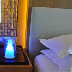 china 2014 new design Tops-lighting Hand-blown glass decorative lamp hotel bedside lamp manufacturer