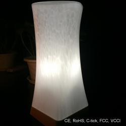 TML-G01NG Handblown Glass Portable Venus Lamp Living Room with Perfect Light Transmission