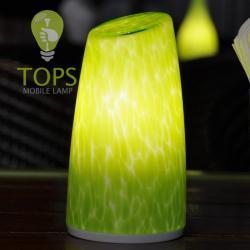 china Arte e Tecnologia sem fio Table Lamp economia de energia com IP54 pintada à mão Abajur do fabricante