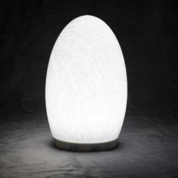china 3000mAh 1.5W 50h Recargar lamparas de aceite avec la main faite lampe en verre ombre constructeur