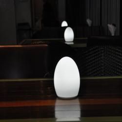 china Decoração da tabela sem fio lâmpada LED com bateria de iluminação inteligente do fabricante