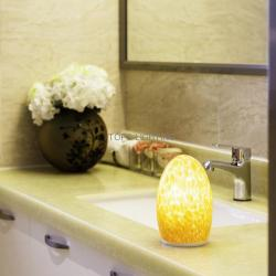 china Bluetooth and wifi control star hotel lamp battery operated painted glass lamp manufacturer