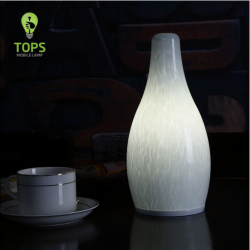 TML-G01SH Bottle Shape Modern Style LED Standing Lamp with 4000mAh Lithium Rechargeable Battery