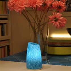 china Tops-lighting Pure Hand Blown Glass Table Lamp fabricante