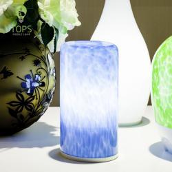china Partido LED atmosférica Mesa de Luz Hot venda de poupança de energia remoto sombra de vidro de controle decorativa Abajur do fabricante