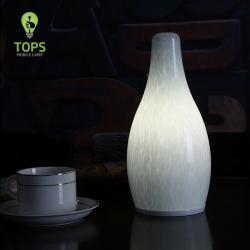 Cina     La cena forma di ciottoli e ricaricabile ha condotto la lampada da tavolo cordless    produttore