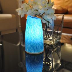 china Egg Shape Marble Table Lamp with Magnifying Glass manufacturer
