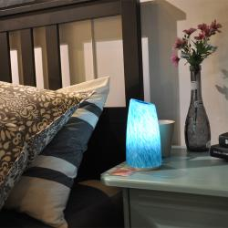 china Restaurant Decoration Table Lamp With Cordless Battery Charge manufacturer