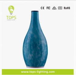 china hotel restaurant bar decoration led table lamp artic light eco-friendly handblow glass mood lamp constructeur