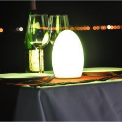 4400MA 5v eletrônico da lâmpada do vitral sem fio recarregável lâmpada LED mesa portátil