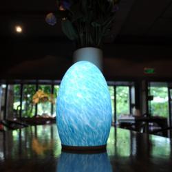 Cordless wiederaufladbare LED-Lampe mit Batterie