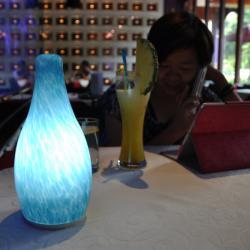 Bottle Shape Dim Adjust Table Lamp