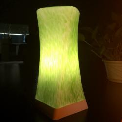 china Tops Lighting Pure Hand Made Hot New Products LED Glass Table Lamp manufacturer