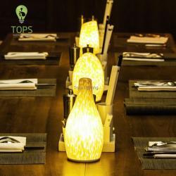 Top illuminazione fatto a mano puro LED Più popolari Dimming Lampada da tavolo