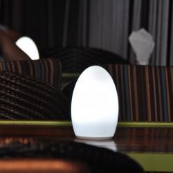 TML-G01EQ Cordless Rechargeable Battery Rock Salt Lamps
