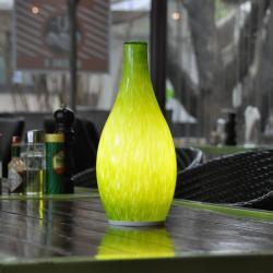 china Tops éclairage APP Controle Geblazen Glas brevet Ontwerp Elektrische Kaars Lampen constructeur