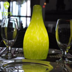 china New arrival cafe cordless lampes restaurant table bougie manufacturer