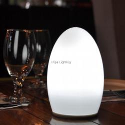 china Projeto europeu bonito LED Vidro Abajur para Decoração do fabricante