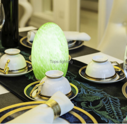 5 Star Hotel or resorts plaza clubs decorative Rechargeable Battery LED Table Lamp