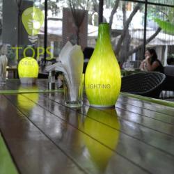 china 4400mA 1.5W schnurlose wiederaufladbare 2014 Feiertagsbeleuchtung WiFi und Bluetooth- Steuer schnurlose Schreibtischlampe manufacturer
