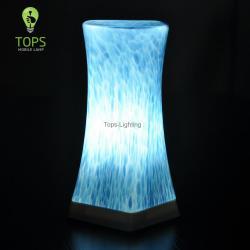 Modern Glass Shade Fancy Portable LED Lights for Restaurants
