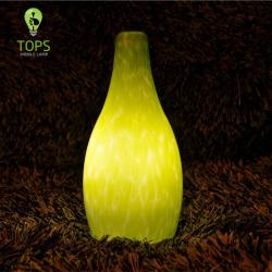 china Green Glass Antique Decorative Hotel LED Lamp proveedor