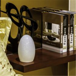 TML-G01EH Opal White Glass Lamp Shade Portable Luminaire LED Table