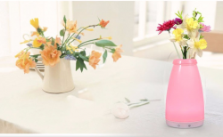 RGB color changeable modern bedside lighting Cordless Mood Vase Energy Saving Lamp for Restaurants