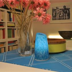china Blue Green White IP54 LED Decoration Table Lamp Wireless Remote LED Lights for Bedroom TML-G01T manufacturer