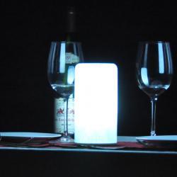 china Verre de style européen Lampes de table pour le salon TML- G01C constructeur