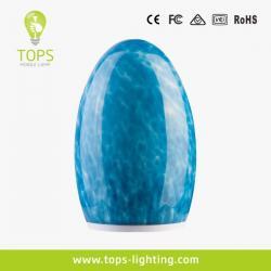 Egg Shape 1.5W LED Moon Light Candles Lamps with Soft Lighting TML-G01E