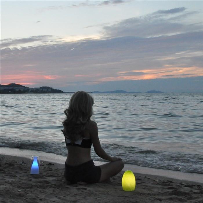china Mesas ocasionales LED recargable lámpara de camping Velas TML - G01E proveedor