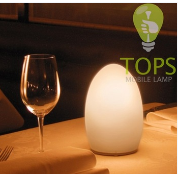 china eading lamp Cordless Rechargeable LED Lamp handblown glass mobile lamp table lamp camping outside lamp supplier