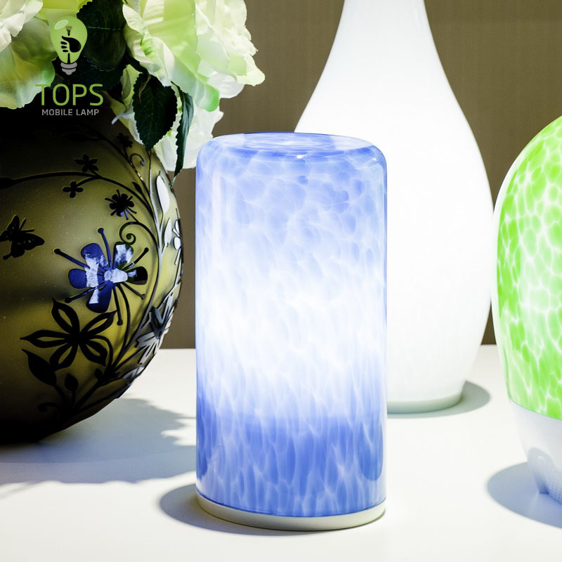 china Motted Pattern Rechargeable LED Wifi Table Lamp supplier