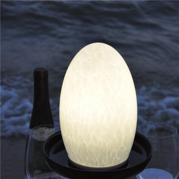 china TML-G01EH Opal White Glass Lamp Shade Portable Luminaire LED Table fournisseur