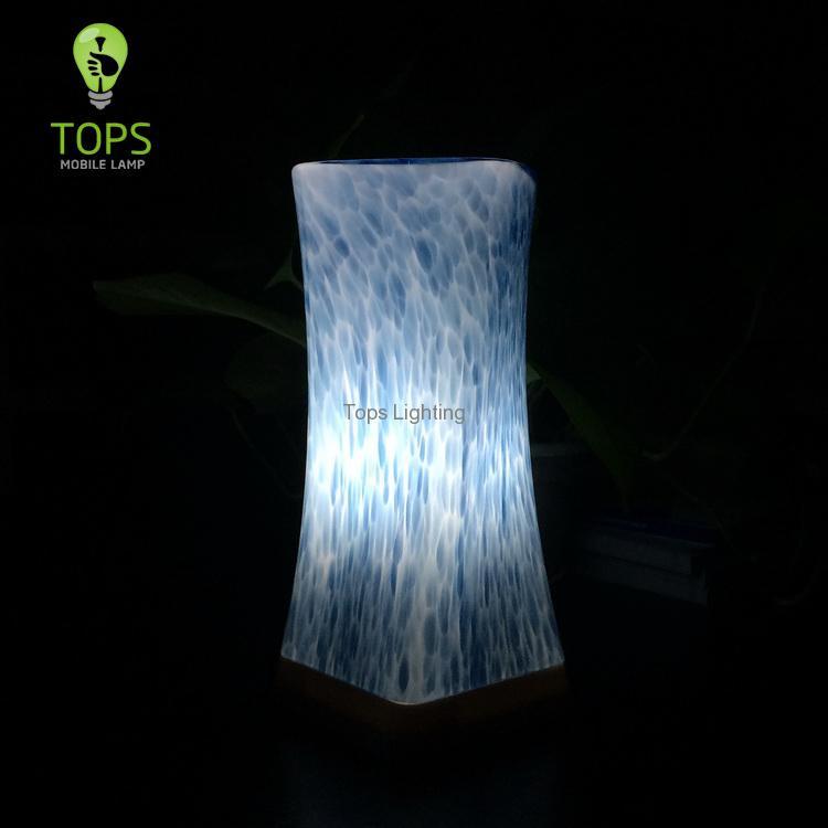 china Restaurant Table beauté et l'art de gradation Table Lamp fournisseur