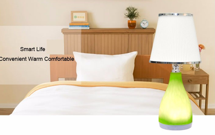china Led Decoration Flexible Lampshaped Smart control Bedside Reading Wall Light supplier