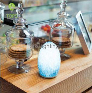 china 5 Star Hotel or resorts plaza clubs decorative Rechargeable Battery LED Table Lamp supplier