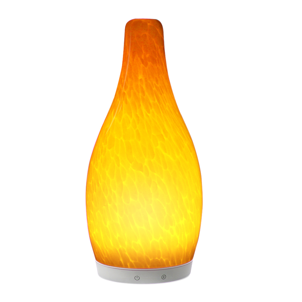 china Home Decoration Modern Hand Blown Shadeless Glass Table lamps supplier