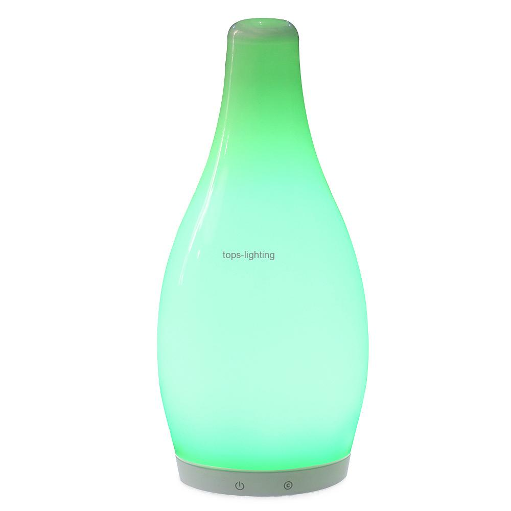china Wireless LED Dimming Ball Shaped Glass Bottles for Coffee House with 12V 1.5W Led Bulb supplier