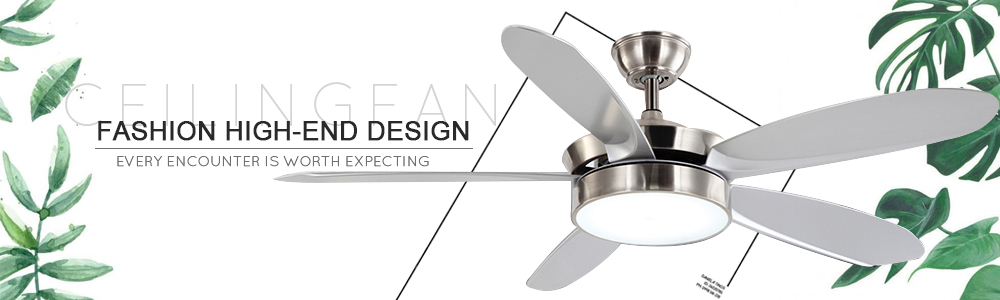 china 52 inch AC/DC ceiling Fan with lights fabricante