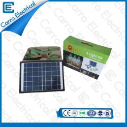 受け入れられるOEM 6V 10Wソーラーパネルシステムエネルギーインバーターホーム利用便利な省エネCEL- 310A用