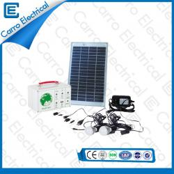 Best Quality 10W Portable Solar Electrical DC System with 5m Power Line Environmental Protection CES-1205