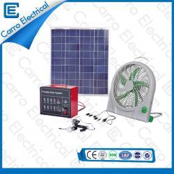 20W يسهل حملها بالجملة الكهربائية الشمسية شحن أنظمة الصين الصانع CES - 1209