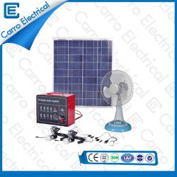 china Competitive Price 30W Home Cheap Best Solar Panel Power Systems with 5m Power Line  CES-1217 manufacturer